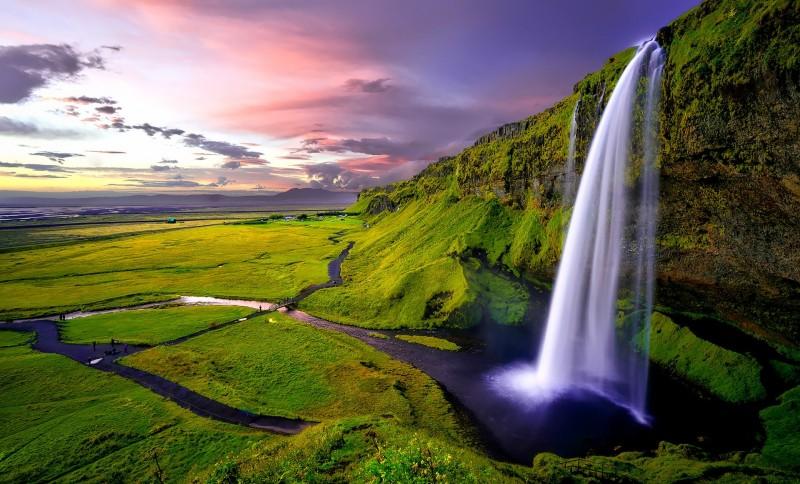 Islande, volcans, glaciers...