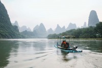 Guilin 4 tridents- Chine